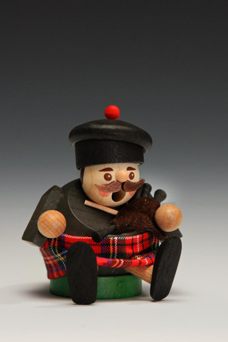 Little Mini Scottish Bagpipes German Smoker