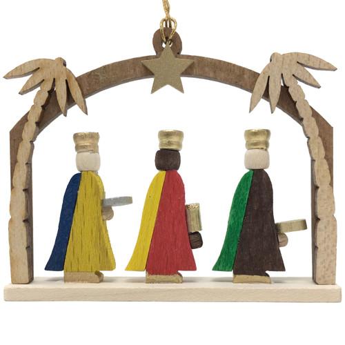 German 3 Wise Men Christmas Ornament ORR136X64