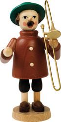 German Smoker Trombone Player Musician SMR260X37