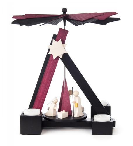 Modern German Christmas Nativity Stunning Pyramid PYD085X714X2