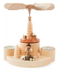 Forest Woodworker German Tea Light Pyramid PYD085X921
