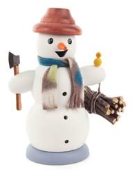 Forest Wood Snowman German Smoker SMD146X1267X22