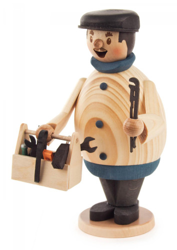 Handyman with Toolbox German Incense Smoker - SMD146X1343X44