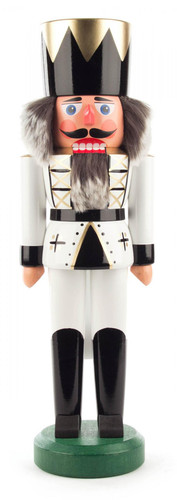 Winter White King German Nutcracker NCD012X015X4