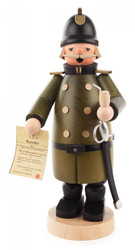 Policeman German Incense Smoker - SMD146X1773