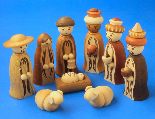 Nativity Set Wise Men Shepard Medium
