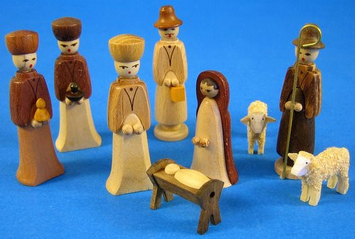 Nativity Set Wise Men Shepard Small