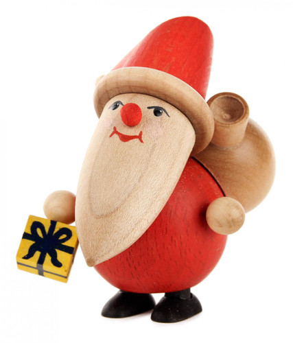 Santa Gift Wooden German Figurine FGD195X812