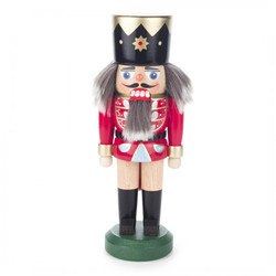 Red King German 8 inch Nutcracker NCD020X007X1