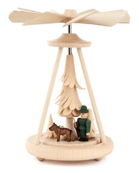 Mini Pyramid Forester Hunter with Dog PYD074X240X2