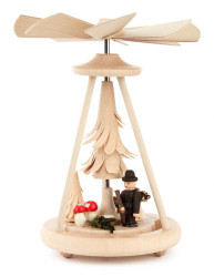 Mini Pyramid Woodsman Hiker in Forest Trees PYD074X240X8