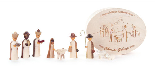 Natural Nativity Figurine Box Set