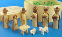 Natural Nativity Figurine Box Set