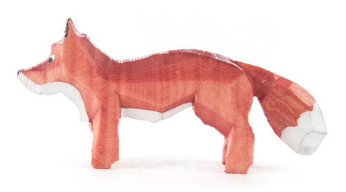 Tiny Fox Vixen Kit German Hand Carved Miniature Figurine FGD076X117
