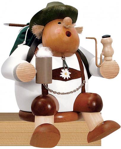 Sitting Beer Lover Rambler Bavarian German Smoker SMK216X00