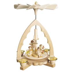 Angel Chorus Instruments Concert Christmas Pyramid PYR163X33