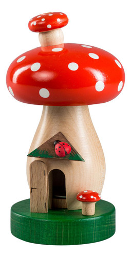 Forest Dotted Red Mushroom German Smoker SMR265X28
