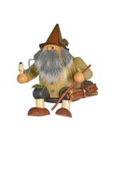 Wood Gnome Sitting German Smoker SMK214x51