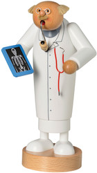 Tall Doctor with X-Ray German Smoker SMK217X42