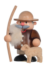 Mini Shepherd with Sheep German Incense Smoker SMK250X34