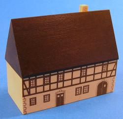 Printed Tall House