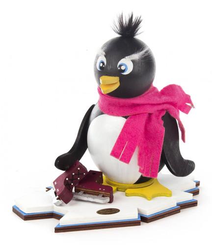 Penguin with Ice Skates German Smoker  SMD146X771X70