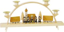 Christmas Choir Village Candle German Arch Schwibbogen CHR012x04
