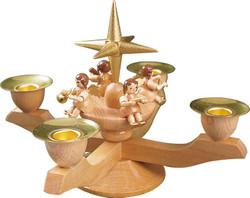 Angel Natural Advent Candleholder CHR004X83