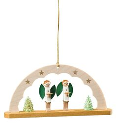 Angels Singing Arch German Christmas Ornament ORR135X80