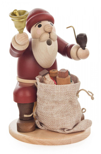 Santa German Smoker Bell and Sack SMD146X1855