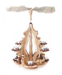 Outstanding Christmas Tree Nativity Pyramid PYD085X651