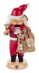 Santa with Sack and Bell German Christmas Nutcracker NCD022X146