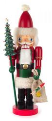 German Santa with Tree Nutcracker NCD049X3077