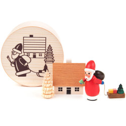 Santa Village Figurine Set FGD070X015