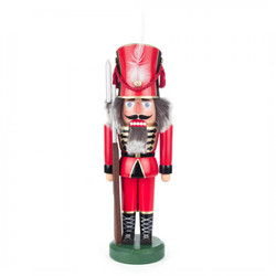 German Soldier Nutcracker in RED NCD012X012R