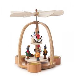 German Christmas Children Toys Two Level TeaLight Pyramid PYD085X528