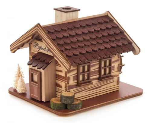 Forest WaterWheel Cabin Haus German Smoker  SMD146X1860X3