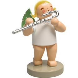 WENDT & KÜHN Blonde Angel Bass Flute Figurine
