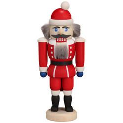 Miniature Red Santa German Nutcracker