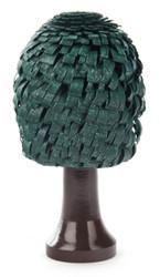 Tree 4 inch Wooden German Green Figurine