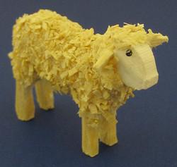 Sheep Figurine 24x32mm