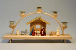 Nativity Creche German Schwibbogen Candle Arch CHR201X194