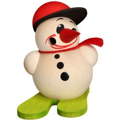 Happy MINI Snowman German Smoker 3.5 inches  19601