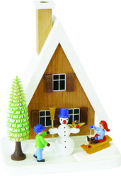 Snowman Kids Cabin German Smoker SMR026x04