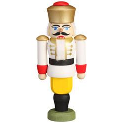 Nutcracker King White Figurine 3.5 Inches - 11511X3