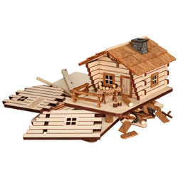 German DIY Smoker KIT - Forest Cabin - 3.5 Inches - 20011
