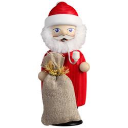 Santa Claus German Incense Christmas Smoker 5.5 Inches - 12259