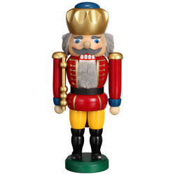Red King German Nutcracker is 9.8 Inches - 11951X1