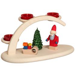 Santa Tealight Christmas Candle Arch Schwibbogen - 15302
