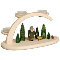 Forest German Tealight Candle Arch Schwibbogen - 15303